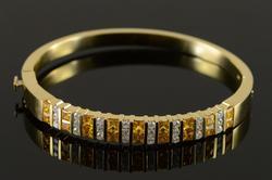 Very Elegant & Colorful 5.50ctw Sapphire & Diam Bracele