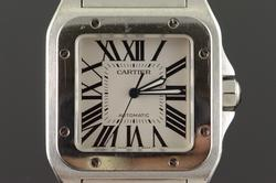 Cartier Santos 100 XL Automatic Case Men's Watch