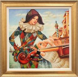 Original Oil By Edgar Barrios