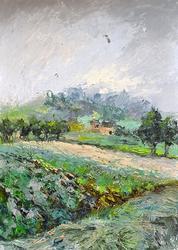 Spectacular Original Oil by Oksana Pyzh