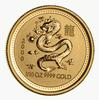 2000 Australia $15.00 1/10 OZ. 9999 Gold Year Of The Dragon