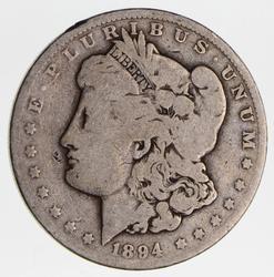 1894-O Morgan Silver Dollar, Tough Date