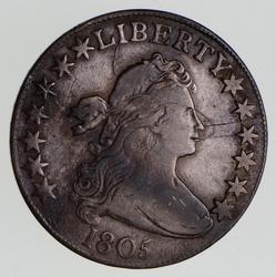 1805 Draped Bust Silver Half Dollar