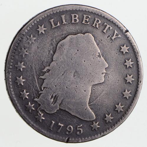 1795 Flowing Hair Silver Dollar