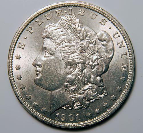 1901-O Morgan Silver Dollar BU