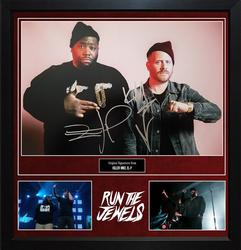 Run The Jewels Killer Mike El-P Signed Photo Custom Dis
