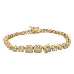 9+ carat Diamond Bracelet