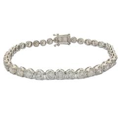 9.67 carat Diamond Tennis Bracelet