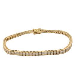 Diamond Tennis Bracelet, 4.72ctw