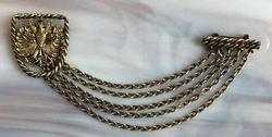 Regal, Vintage, Mid-Century, 'Eagle' Chatelaine Pin