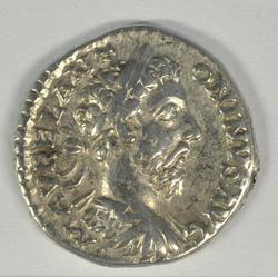 Nice Roman Silver Denarius of Marcus Aurelius, 180 AD