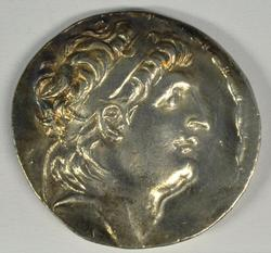 Near Mint Antiochos VII Silver Tetradrachm, 138-129 BC