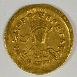 Rare Roman Gold Solidus of Leo I, 457-474 AD