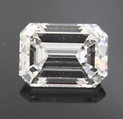 2.0 CT Emerald Cut Loose Diamond, Excellent Quality