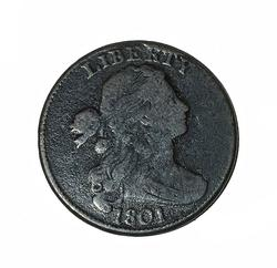 1801 Large Cent  Sheldon -223  1/000