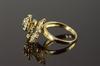 14K  Gold  Birthday Spanish Spinner Ring