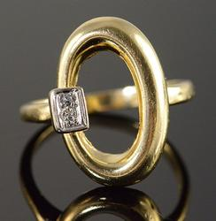Classic Diamond Accented Ring