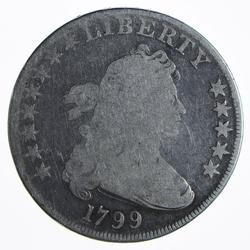 Early 1799 Draped Bust Silver Dollar
