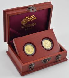 Double Prosperity Set 1/2oz Eagle & Buffalo BU 2008