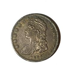 1835 AU Bust Half With an Old PCGS label O 110 R-2