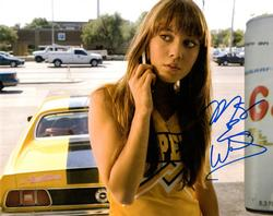 Mary Elizabeth Winstead Autographed Signed Death Proof