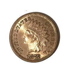 1875 Choice Indian Cent