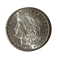 Frosty white 1879 S BU Morgan Dollar