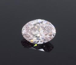 GIA Certified Fancy Light Pink Diamond