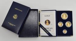 1988 American Eagle Gold Bullion Coins Proof Set w/ Box & COA