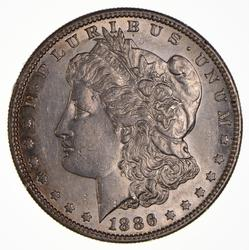 1886-S Morgan Silver Dollar, Great Date
