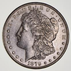 1879-S Morgan Silver Dollar, Only 2% Minted w/ 78 Rev.