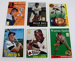 6 Topps 50 Years Baseball Reprints