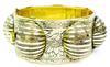 Vintage Whiting & Davis Wide Bangle Bracelet