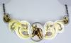 Montana Silversmiths Ornate Horse Necklace