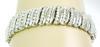 Stellar Sterling Bracelet Encrusted with 156 Diamonds