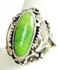Signed N.A. Indian Sterling Turquoise Ring