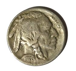 1926 S Key Buffalo Nickel
