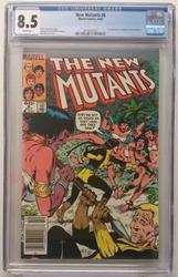 New Mutants # 8 October 10, 1983 Marvel Comics CGC 8.5