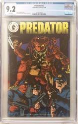Predator # 3 November 1989 Dark Horse Comics CGC 9.2