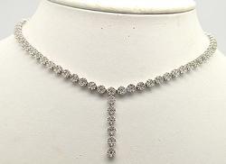 Phenomenal Necklace, Bracelet & Earrings Diamond Set
