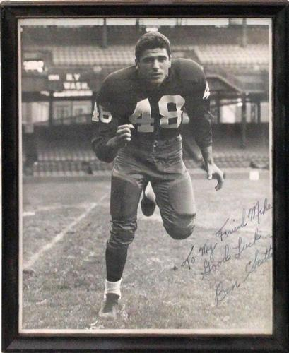 Signed Football player Photograph
