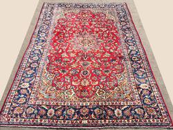 Darling Mid-20th C. Fine Handmade Authentic Vintage Royal Persian Isfahan