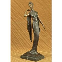 Nude Actress Dancer Bronze Figurine