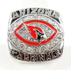 Arizona Cardinals, Warner Replica Football Ring