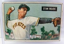 Stan Rojek, Cardinals 1951 Bowman Gum Baseball Card