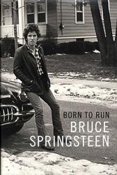 Bruce Springsteen Signed Born To Run Book Title Page AF