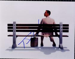 Tom Hanks Autographed Signed 11x14 Forest Gump Photo AF