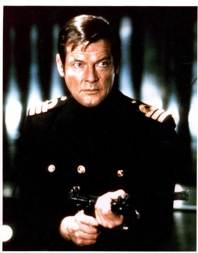 Roger Moore Autographed Signed 11x14 James Bond Photo A