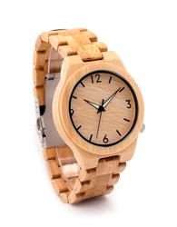 D27 Bamboo Wooden Watch Unique Natural Bamboo Watch