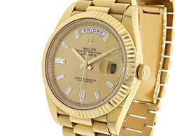 Rolex 18K President Day/Date, Double Quickset